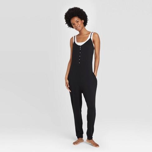 Women's Lounge Playsuit - Colsie™ Black : Target