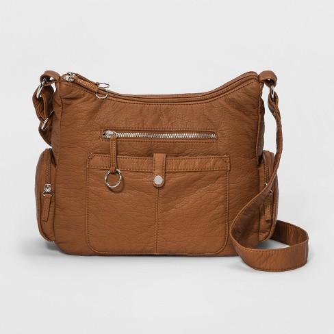 8992f658802 Bueno Washed Grainy Crossbody Bag   Target