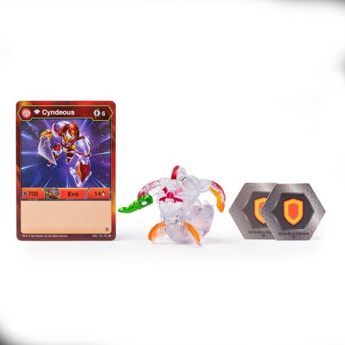 "Bakugan Diamond Cyndeous 2"" Collectible Action Figure and Trading Card - image 1 of 4"