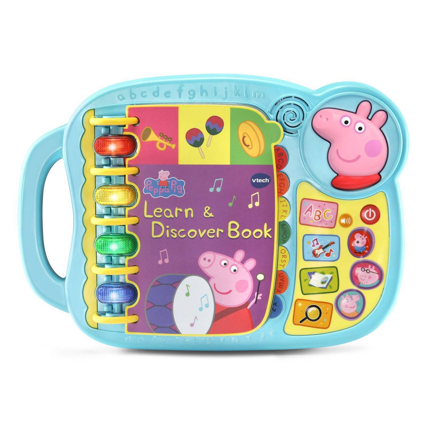 VTech Peppa Pig Learn & Discover Book - image 1 of 5