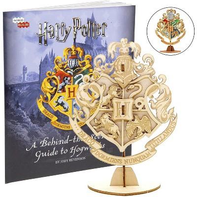 Incredibuilds Harry Potter Hogwarts Crest Book & Wood Model Kit
