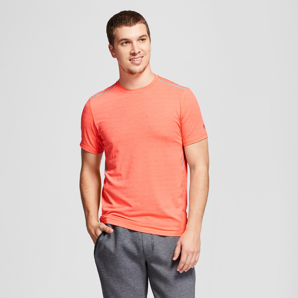Men's Short Sleeve Train Top - C9 Champion Red Glow Heather M