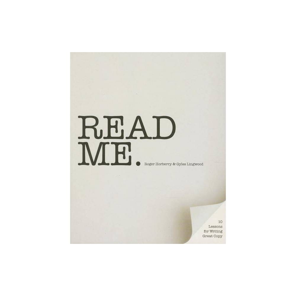Read Me By Roger Horberry Gyles Lingwood Paperback