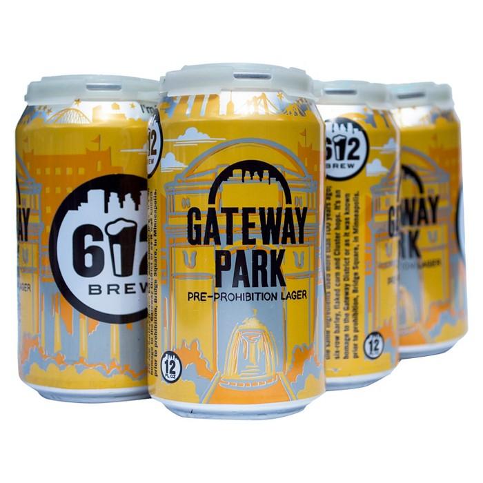 612 Gateway Park - 6pk/12 fl oz Cans - image 1 of 2