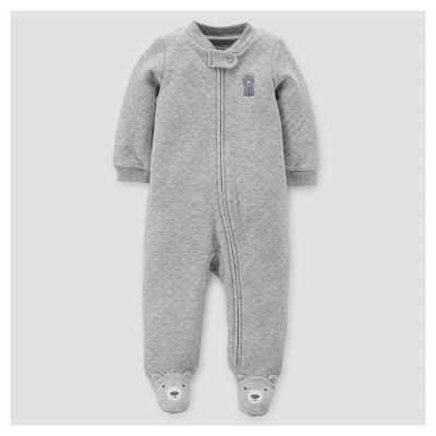 Baby Boys' Bear Sleep N' Play - Just One You™ Made by Carter's® Gray NB