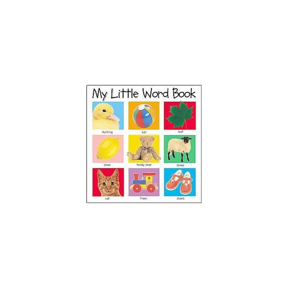 My Little Word Book By Roger Priddy Board Book