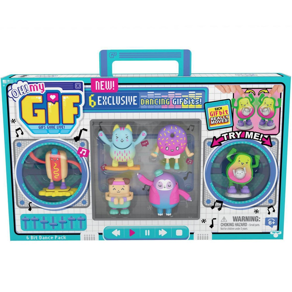 Oh My Gif 6 Bit Dance Pack