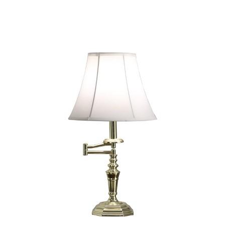 Dalia Gold Swing Arm Table Lamp Gold  - Ore International - image 1 of 4