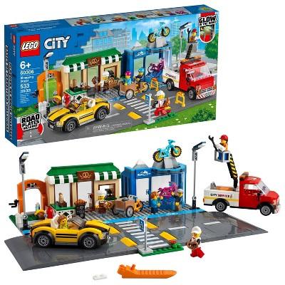 LEGO City Shopping Street Building Kits 60306