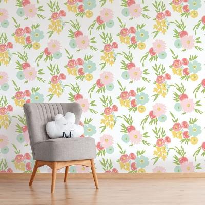 Peel & Stick Wallpaper Floral Fields - Cloud Island™