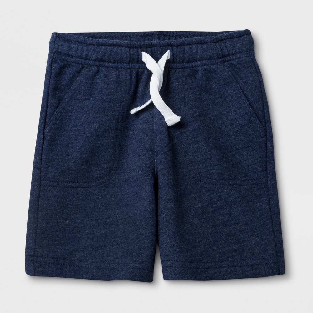 Toddler Boys' Pull-On Shorts - Cat & Jack Navy (Blue) 4T