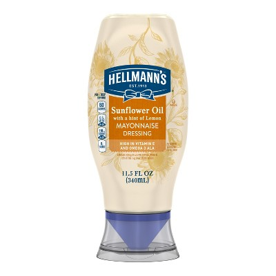 Mayonnaise: Hellmann's Sunflower + Lemon