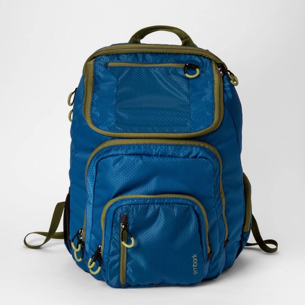 """Image of """"19"""""""" Jartop Elite Backpack Teal/Olive - Embark , Size: Large, Blue"""""""