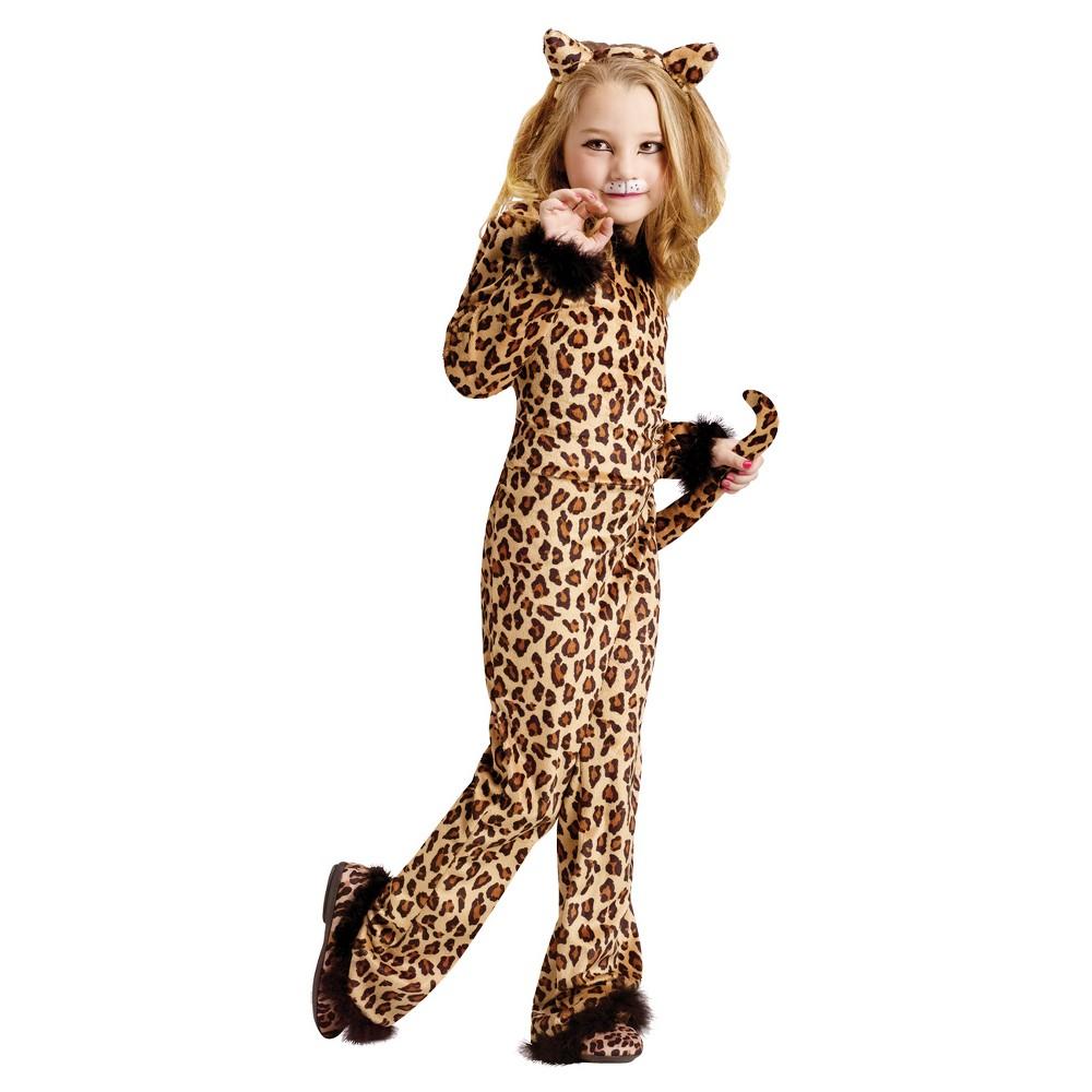 Girls' Pretty Leopard Toddler Costume 3t-4t, Multicolored