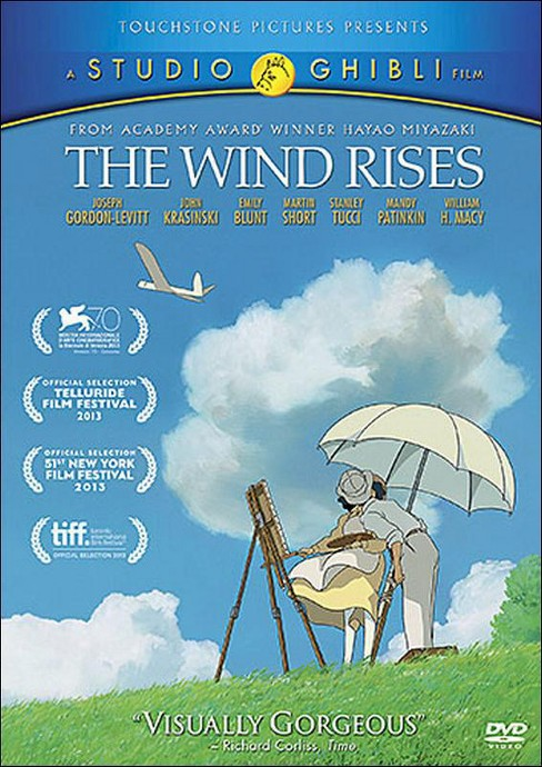The Wind Rises (dvd_video) - image 1 of 1
