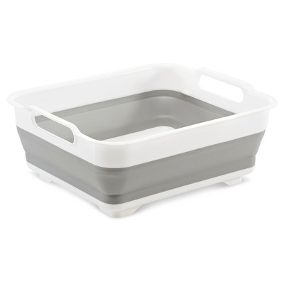 Collapsible Dish Tub White - Room Essentials™