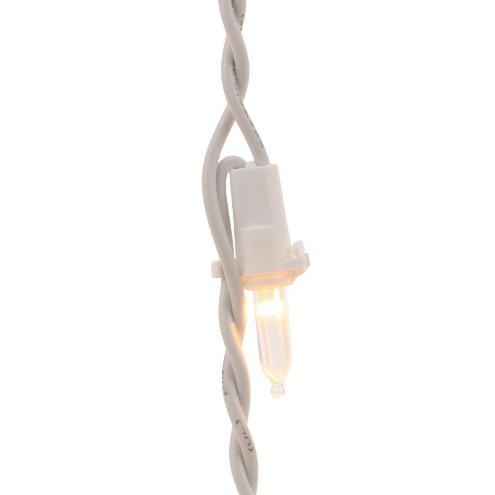 Image of Philips 175ct Christmas LED Icicle String Lights Warm White