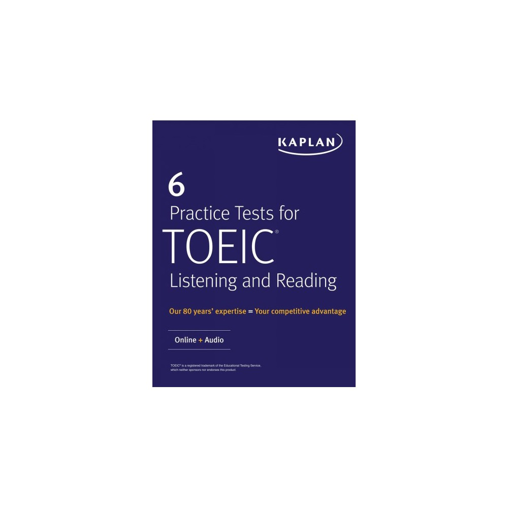 6 Practice Tests for Toeic Listening and Reading - Pap/Psc (Paperback)