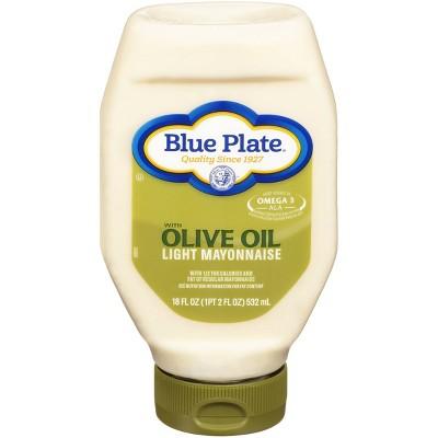 Blue Plate Olive Oil Light Mayonnaise - 18 fl oz