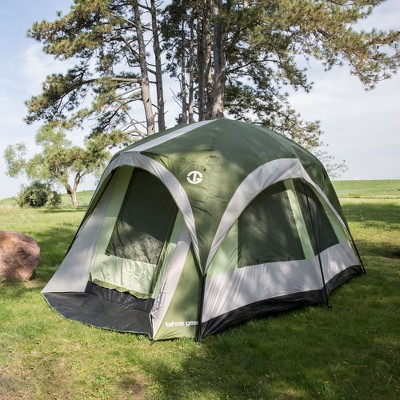 Tahoe Gear Jasper 7 Person Family Cabin Dome Outdoor C&ing Tent Green/White  Target & Tahoe Gear Jasper 7 Person Family Cabin Dome Outdoor Camping Tent ...