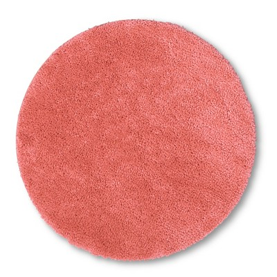 Round Bath Rug Georgia Peach - Room Essentials™