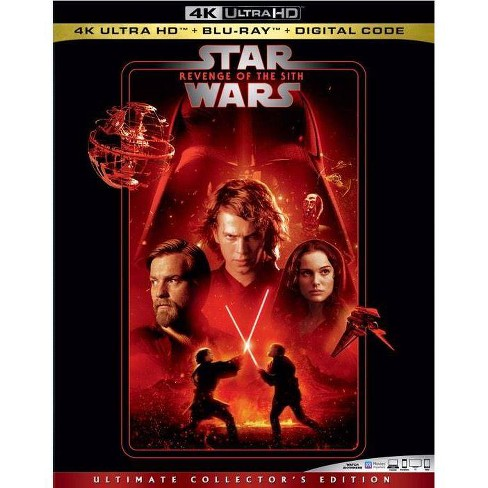 Star Wars Revenge Of The Sith 4k Uhd Target