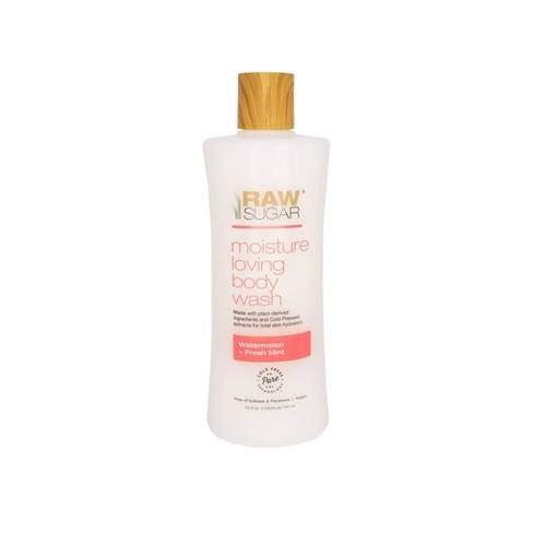 Raw Sugar Watermelon and Fresh Mint Moisture Loving Body Wash - 25 fl oz - image 1 of 4