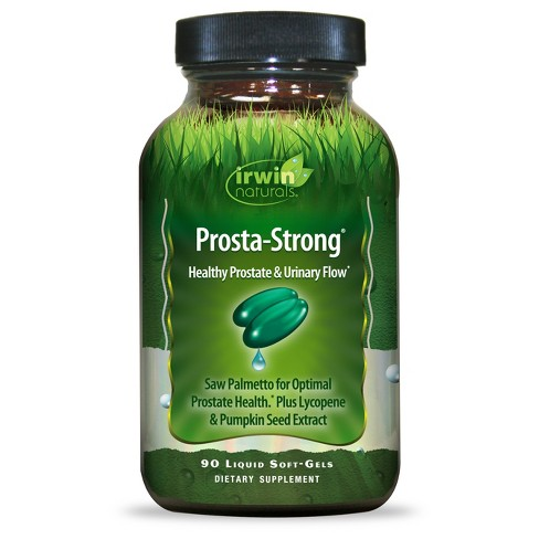 irwin naturals® Prosta-Strong Dietary Supplement Liquid Soft-Gels - 90ct - image 1 of 1