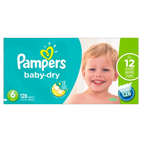 Pampers Baby Dry Diapers Economy Plus Pack (Select Size) - image 1 of 4