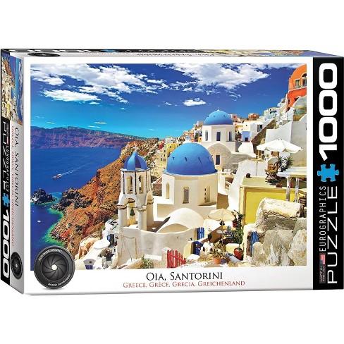 Eurographics Inc. Oia Santorini Greece 1000 Piece Jigsaw Puzzle - image 1 of 4