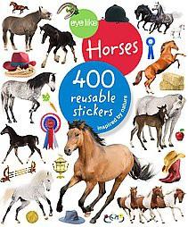 Eyelike Stickers: Horses - by  Workman Publishing (Paperback)