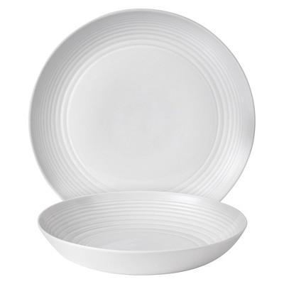 Gordon Ramsay by Royal Doulton Maze White 2-Piece Serving Set