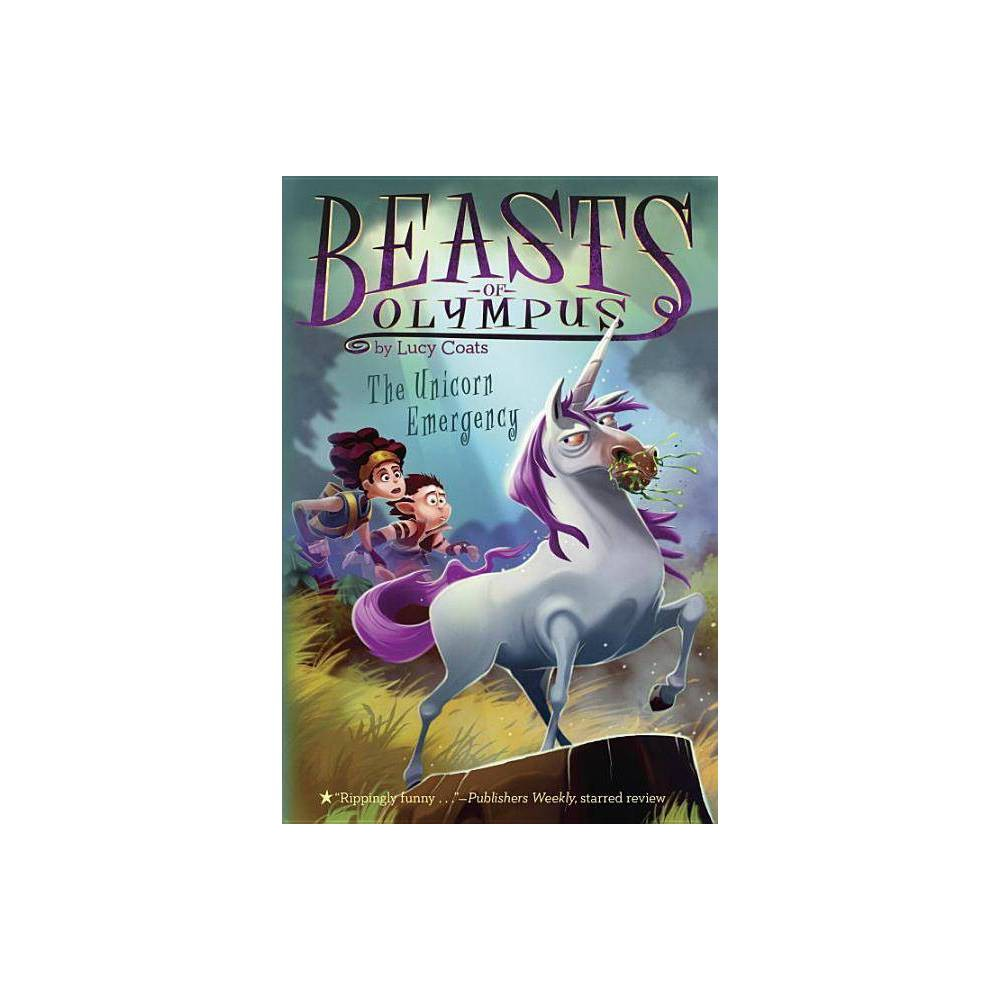 The Unicorn Emergency 8 Beasts Of Olympus By Lucy Coats Paperback