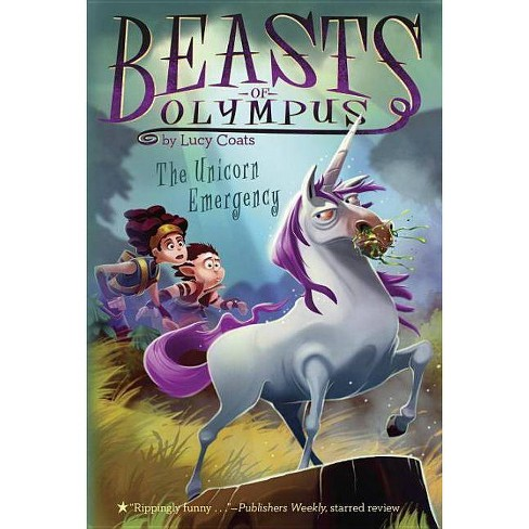 The Unicorn Emergency #8 - (Beasts of Olympus) by  Lucy Coats (Paperback) - image 1 of 1