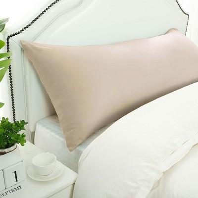 1 Pc Body 1800 Series Soft Brushed Microfiber Pillowcase Khaki - PiccoCasa