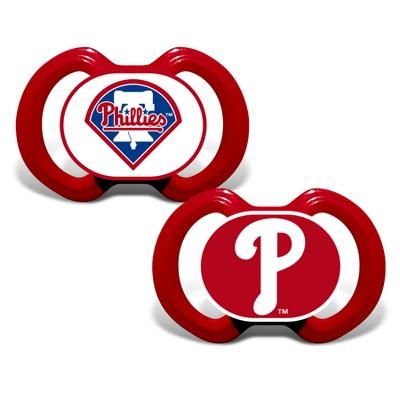 Philadelphia Phillies 2pk Pacifier Set