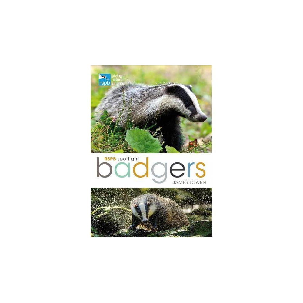 Badgers - (Rspb Spotlight) by James Lowen (Paperback)
