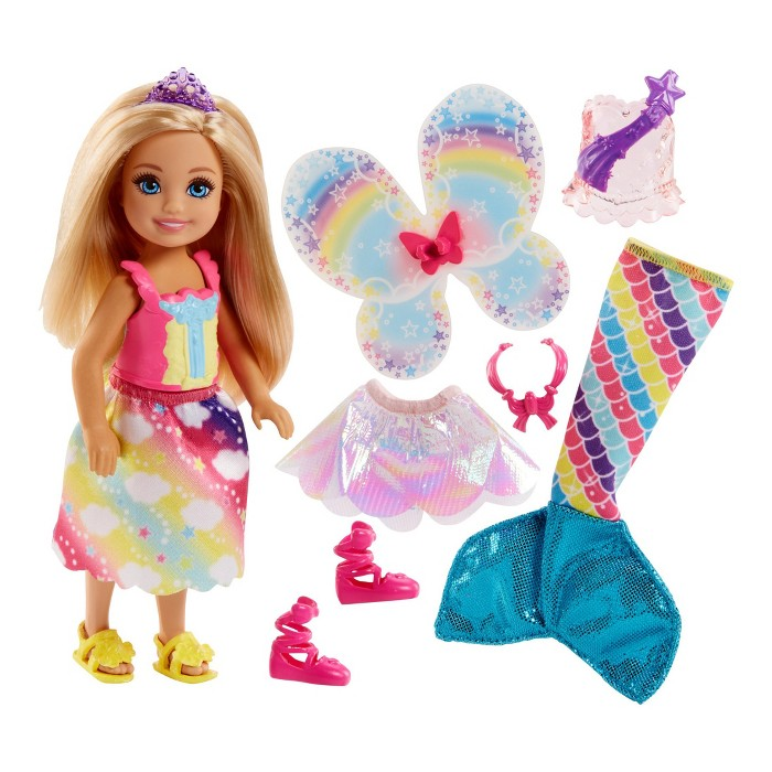 Barbie Dreamtopia Chelsea Doll and Fashions - image 1 of 9