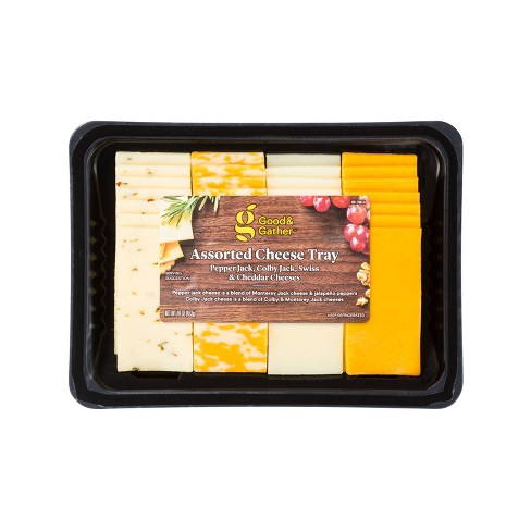 Assorted Cheese Tray - 16oz - Good & Gather™ - image 1 of 3