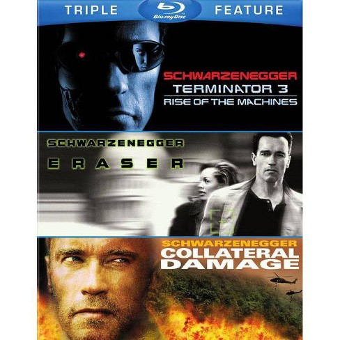 Terminator 3 / Eraser / Collateral Damage (Blu-ray) - image 1 of 1