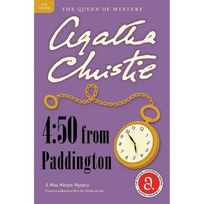 4:50 from Paddington - (Miss Marple Mysteries (Paperback)) by  Agatha Christie (Paperback)