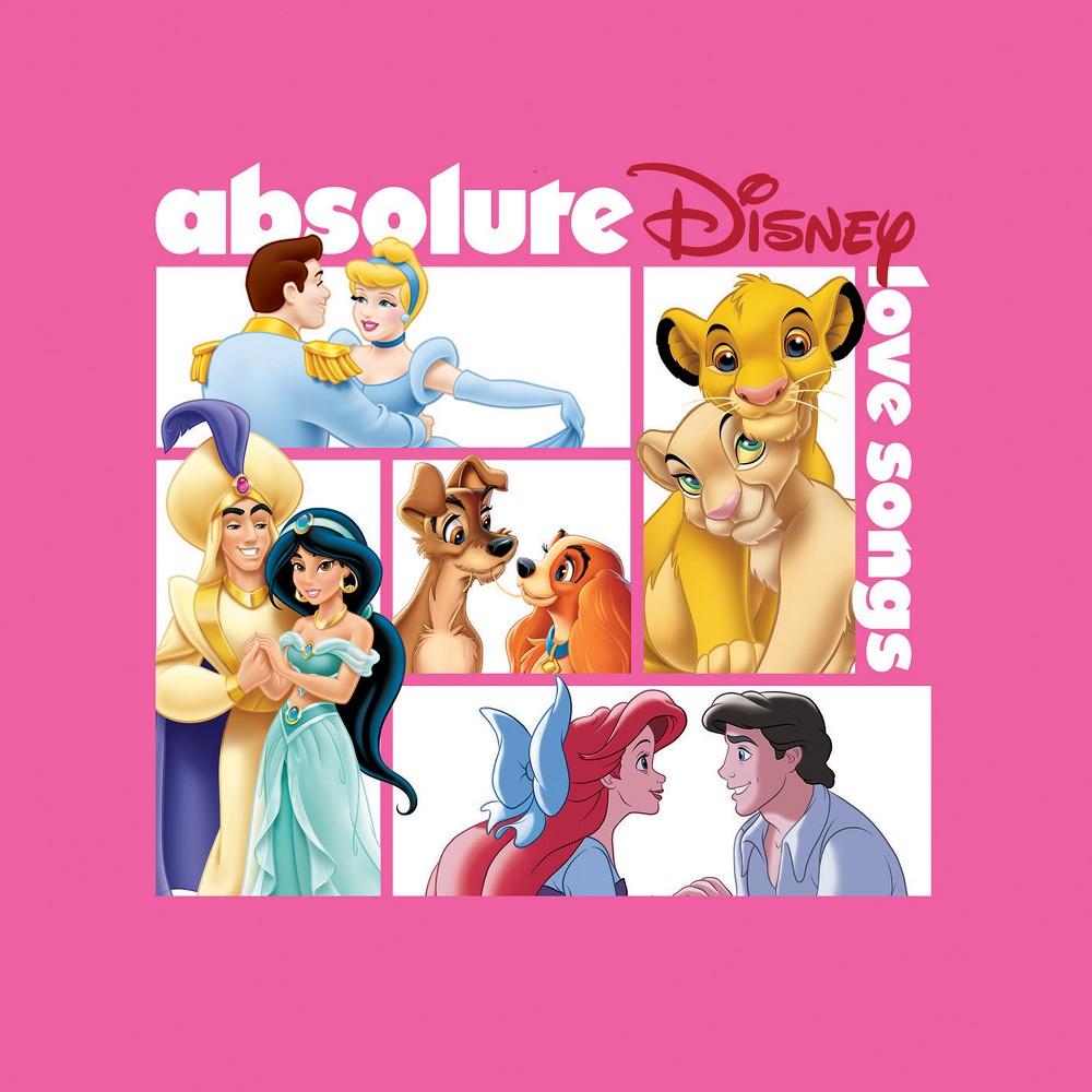 Various Artists Absolute Disney Love Songs Cd