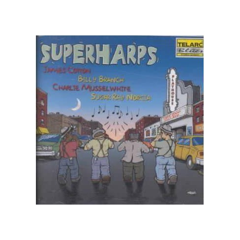 James (Harmonica) Cotton - Superharps (CD) - image 1 of 1