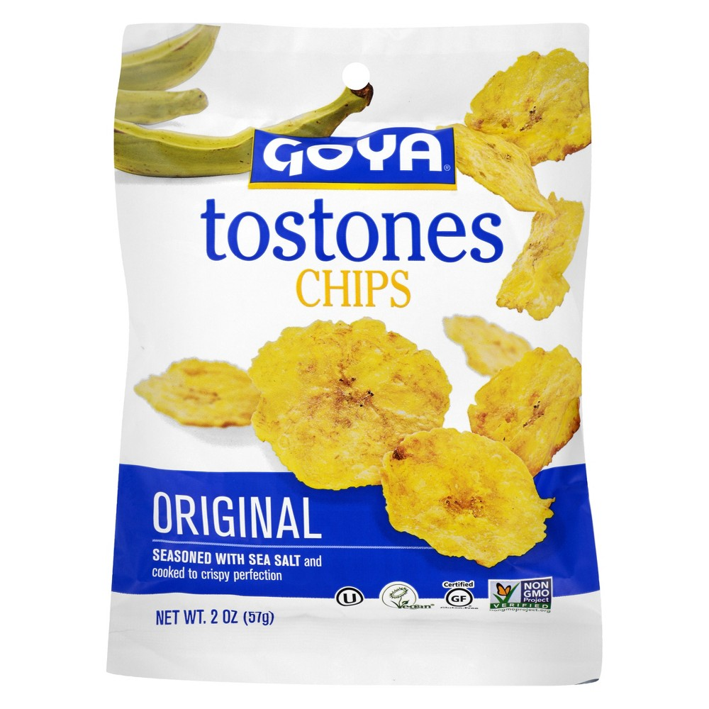 Goya Tostones Original With Sea Salt Chips - 2oz