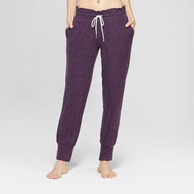 Women's Cozy Jogger Pajama Pants - Xhilaration™ Purple XS
