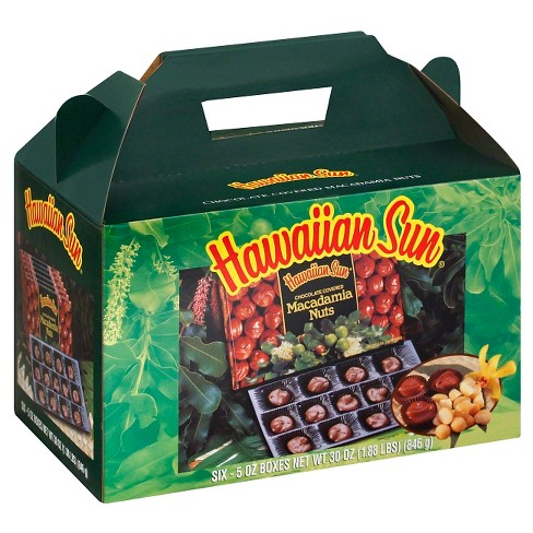 Hawaiian Sun Chocolate Covered Macadamia Nuts - 30oz - image 1 of 1