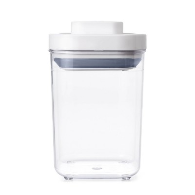 OXO POP 1.1qt Short Small Square Food Storage Container