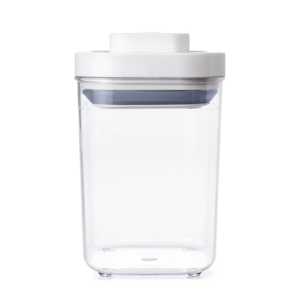 Image of OXO POP 1.1qt Short Small Square Food Storage Container