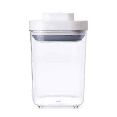 OXO POP 1.1qt Short Small Square Food Storage Container - image 1 of 4