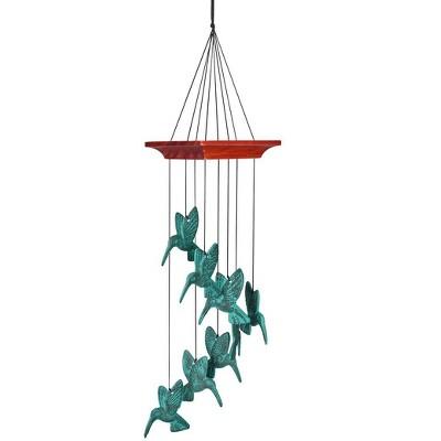 Hummingbird Spiral Chime